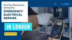 Hire us for any emergency electrical repairs in London