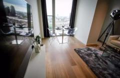 A spectacular luxury 1 bedroom, 1 bathroom apartment