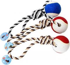 Buy Hotstar Products Non-Toxic Rope Ball Dog Toy