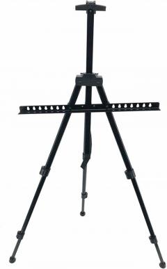 Hotstar Products Aluminium Painting Easel Stand - Black