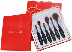 Buy Cosmetic Oval Makeup Brushes Kit For Women O