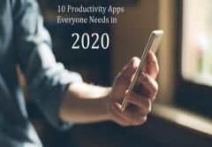 10 Productivity Apps Everyone Needs in 2020