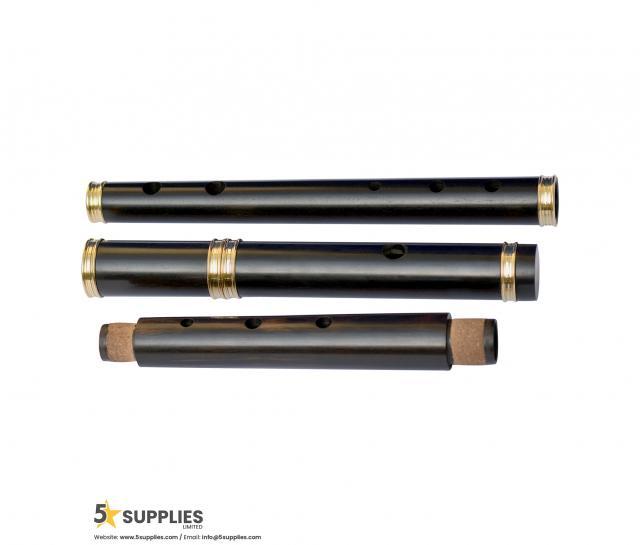 African Ebony wood Student Level Irish Flute 3 Image