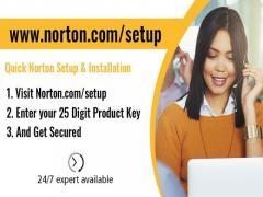 norton.comsetup - Enter Product Key - Download Norton