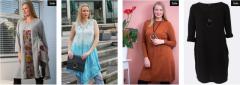 Cheap Plus Size Midi Dresses Online in Uk