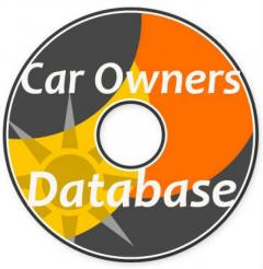 Car Owners Database with Name and Number