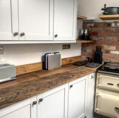 Bespoke Live Edge Wood Kitchen Countertops Online