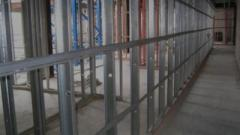 Metal partitioning Leeds  Next Level Plastering