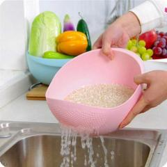 Gopinath Creation Plastic Rice, Vegetable Washing Bowl