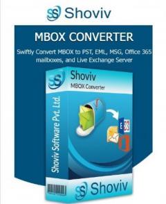Shoviv MBOX to PST Converter Tool