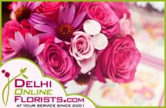 Send Gorgeous Flowers to Delhi Online for Loved Ones