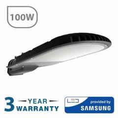 100W LED SMD Street Lamp Dark Grey Body  Smart Lightin