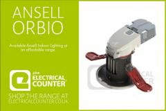 Ansell Orbio 360 Fire Rated Downlights