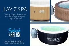 Lay Z Spa Inflatable Hot Tubs