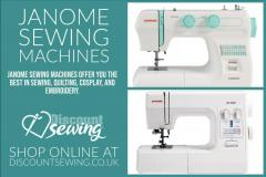 Janome Sewing Machine -  Discount Sewing
