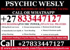 PSYCHIC POWERS & LOVE READINGS 27833447127