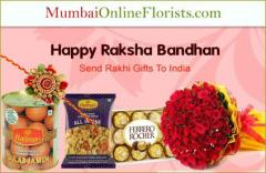 Order Amazing Rakhi Gifts To Mumbai At A Low Pri