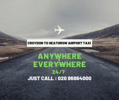 Croydon Minicabs to Gatwick Airport