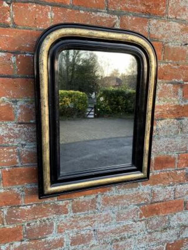 Large Antique Silver Mirror at Cleall Antiques UK 3 Image
