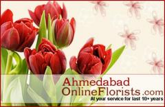 Send Flowers Online to Ahmedabad