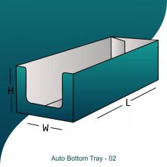Get Fully Customized Auto Bottom Tray Boxes In B