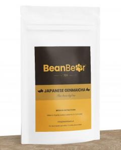 Order Bag of Japanese Genmaicha Loose Leaf Green Tea