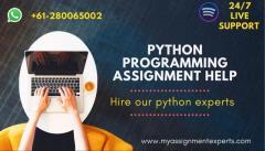 Python Assignment Help & Python Homework Help by Expert