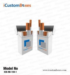 Paper Cigarette Packaging Boxes are available with fre