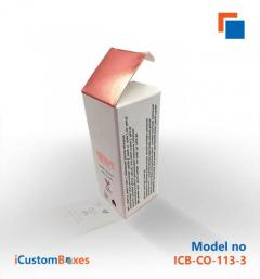 Cosmetic Box Packaging wholesale available at iCustomBo