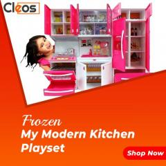 Cleos Kids Kitchen Play Set With Light & Sound