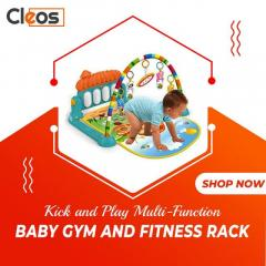 Kick And Play Plastic Piano Baby Gym Big Size -