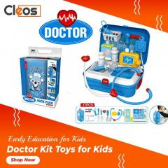 Kids Doctor Kit, 17 Pcs Blue  Cleos