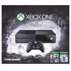 Xbox One 1TB Console : Rise of the Tomb Raider Bundle N