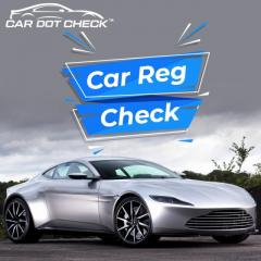 Reg Plate Check