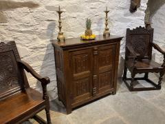 Antique Cupboards In Tudor Oak At Period Oak Ant