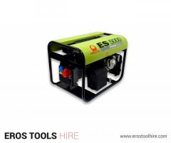 The Benefits Associated With Generator Hire-Eros Tool