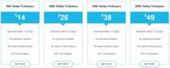 Buy Real Twitter Followres at Cheap Price