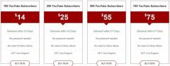 Buy Youtube Subscribers At Cheap Price