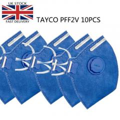 TAYCO FFP2-V Disposable Masks 10PCS