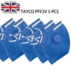 TAYCO PFF2-V Disposable Masks 5PCS