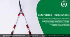 Extendable Hedge Shears - Eden Garden Equipment