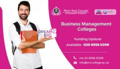 Business Management Courses London In The  Mrc I