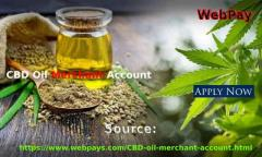 CBD Oil Merchant Account for smooth and advantageous pa