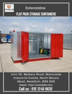 Flat Pack Containers  Extendaline