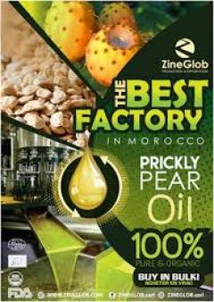 ZineGlob Wholesaler And Exporter Of Prickly Pear Oil