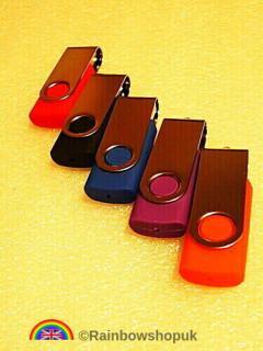2.0 Usb Flash Drives Memory Sticks Different Mod