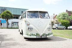 Wedding Cars For Hire From The White Van Wedding