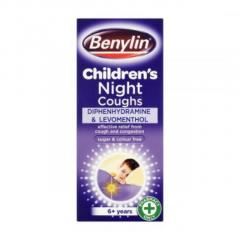 Benylin Childrens Night Cough Syrup 125Ml
