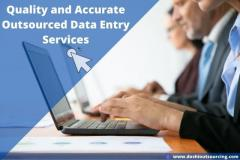 Quality And Accurate Outsourced Data Entry Servi