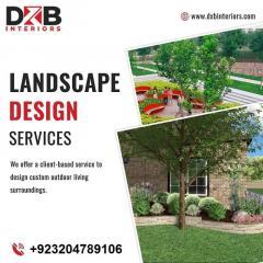 Splendid Landscape Design Services In Lahore  Dx